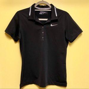 Nike Golf Tour Performance Dri-Fit Black Polo